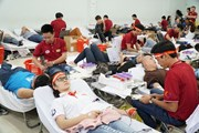 Ngày hội hiến máu Chủ Nhật đỏ vượt mục tiêu đã đề ra