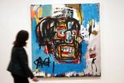 """Bức họa """"Untitled"""" của Basquiat phá mức giá kỷ lục của các họa sỹ Mỹ"""
