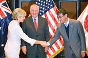 Ngoại trưởng Nhật, Mỹ, Australia nhóm họp về hợp tác an ninh