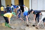 Yên Bái: Thị xã Nghĩa Lộ ra quân làm sạch môi trường sau mưa lũ