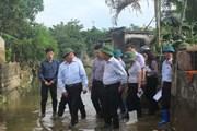 PTT Phạm Bình Minh thị sát các tuyến đê xung yếu tại Thanh Hóa