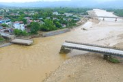 Yên Bái đang báo cáo Chính phủ và Bộ Giao thông Vận tải về cầu Thia