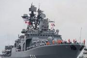 Tàu chiến Nga chuyển khí tài hỗ trợ quân đội Philippines