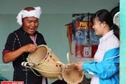 Độc đáo nghề đan lát truyền thống của người dân tộc Churu