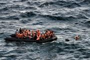 Hơn 100 người di cư Syria được cứu sống trên biển Aegean