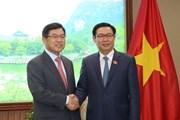 Việt Nam đánh giá cao việc tăng tỷ lệ nội địa hóa sản phẩm của Samsung