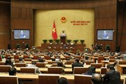 Quốc hội thông qua dự thảo Luật Quản lý nợ công với đa số tán thành