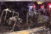 Xe chở khách đâm vào xe tải, 13 lao động Myanmar thiệt mạng