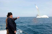 Mỹ sẵn sàng đối phó với tên lửa phóng từ tàu ngầm của Triều Tiên
