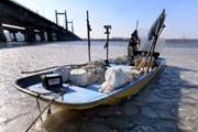 Hàn Quốc: Sông Hàn ở Seoul đóng băng sớm nhất trong 71 năm qua