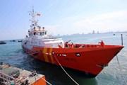 Đà Nẵng: Lai dắt tàu cùng 6 thuyền viên bị nạn về đất liền an toàn