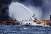Vệt dầu tràn do tàu Iran đắm ít có khả năng lan tới bờ biển Nhật Bản