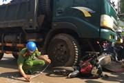 Phú Yên: Va chạm giữa xe tải và xe môtô, hai người thương vong