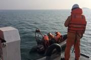 Phát hiện thêm một thi thể tại khu vực các ngư dân Thanh Hóa gặp nạn