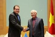 Phó Chủ tịch Quốc hội Uông Chu Lưu tiếp người đồng cấp từ Micronesia