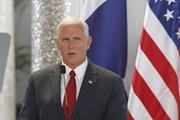 Phó Tổng thống Mỹ Pence bắt đầu chuyến công du Israel ba ngày