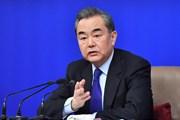 Điện mừng Bộ trưởng Bộ Ngoại giao nước Cộng hòa nhân dân Trung Hoa