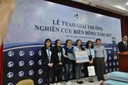 Ấn tượng lễ trao giải thưởng Nghiên cứu Biển Đông năm 2017