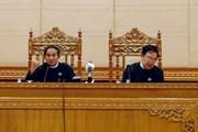 Chủ tịch Quốc hội gửi điện mừng Chủ tịch Hạ viện Myanmar