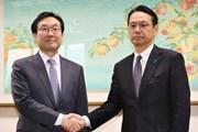 Trưởng đoàn đàm phán hạt nhân Hàn Quốc-Nhật Bản nhóm họp