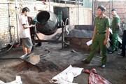 Vụ vỏ càphê trộn sỏi và nhuộm pin: Công an đã thu giữ 3 tấn hàng hóa