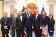 Đại sứ Việt Nam tại Mỹ tiếp Đoàn đại diện cấp cao Đạo Mormon
