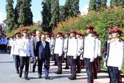 Lễ đón chính thức Thủ tướng Nguyễn Xuân Phúc thăm Singapore