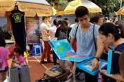[Photo] Độc đáo phiên chợ Tây giữa lòng thủ đô Hà Nội