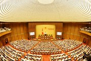 Khai mạc trọng thể Kỳ họp thứ 5 Quốc hội khóa XIV