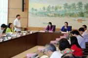 Kỳ họp thứ 5, Quốc hội khóa XIV: Bảo đảm tính đồng bộ trong quy hoạch