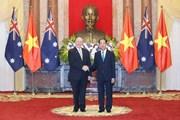 Chủ tịch nước Trần Đại Quang hội đàm với Toàn quyền Australia