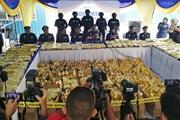 Malaysia thu giữ lượng ma túy đá lớn nhất từ trước tới nay