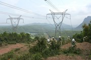 Hệ thống truyền tải điện 500kV quan trọng với an ninh quốc gia