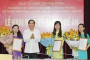 Ban Tổ chức Trung ương thi tuyển ba chức danh Trưởng phòng