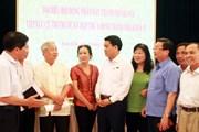 Cử tri quận Hoàn Kiếm kiến nghị, đề xuất nhiều vấn đề cấp thiết