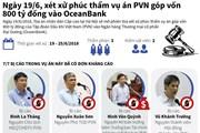 [Infographics] Xử phúc thẩm vụ PVN góp 800 tỷ đồng vào Oceanbank