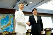 Mỹ cam kết bảo vệ Nhật Bản sau khi dừng các cuộc tập trận quân sự
