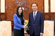 Chủ tịch nước Trần Đại Quang tiếp Đại sứ Ba Lan chào kết thúc nhiệm kỳ