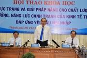Đề xuất giải pháp nâng cao năng lực cạnh tranh của kinh tế TP.HCM