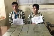 Công an Sơn La bắt hai người mang theo hàng chục bánh heroin