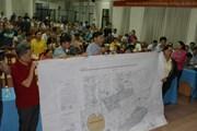Thăm một số hộ dân bị ảnh hưởng bởi dự án Khu đô thị mới Thủ Thiêm