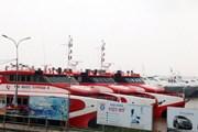 Ảnh hưởng bão, Kiên Giang ngưng hoạt động tàu cao tốc chạy tuyến biển