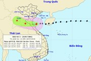 Bão số 3 đã vào vùng biển Thanh Hóa-Quảng Bình, mưa to còn đến 20/7