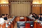 TP.HCM và JICA Việt Nam phối hợp đảm bảo tiến độ các dự án