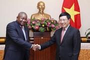 Phó Thủ tướng Phạm Bình Minh tiếp Đại sứ Cộng hòa Mozambique