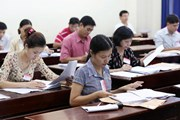 Bộ trưởng Nhạ: Đẩy nhanh chấm thẩm định các nơi kết quả thi bất thường