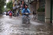 Mực nước sông Hồng tại Hà Nội sẽ lên nhanh, nguy cơ ngập úng cao
