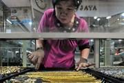 Vàng châu Á vững giá ở gần mức cao nhất trong một tuần qua