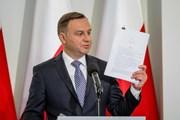 Tổng thống Ba Lan Andrzej Duda đưa ra dự thảo cải cách tư pháp