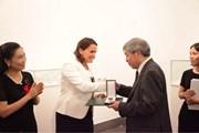Một dịch giả Việt Nam được nhận Huân chương nhà nước Hungary